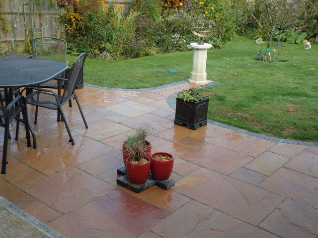 Cotswold Indian sandstone hassock
