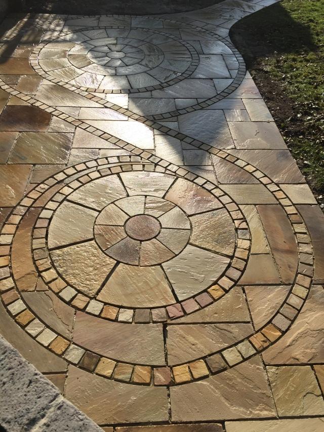 Mint fossil patio Uckfield